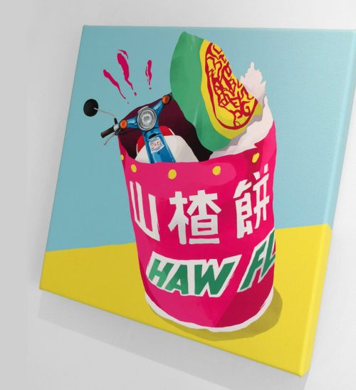 Haw Canvas Art Anyhowly