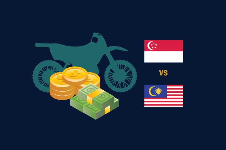 buying a new motorcycle in malaysia or singapore
