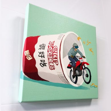 Nissin canvas art Anyhowly