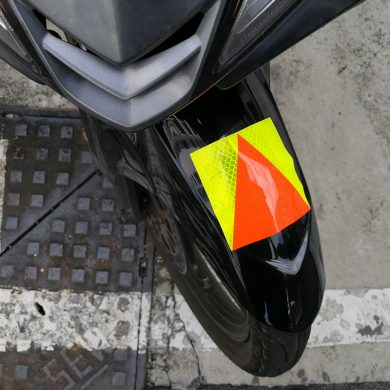 P plate motorcycle