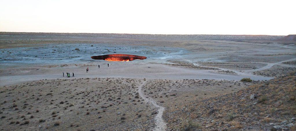 Turkmenistan Darvaza Hell hole