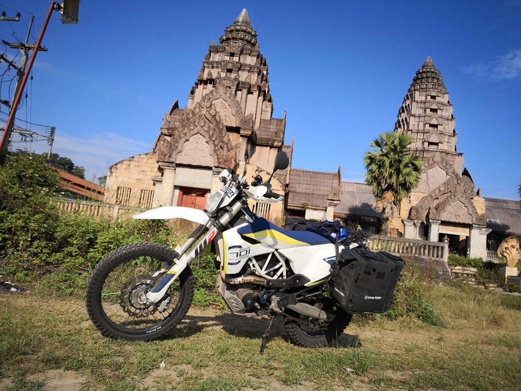 Husqvarna 701 lone rider motobags tthailand