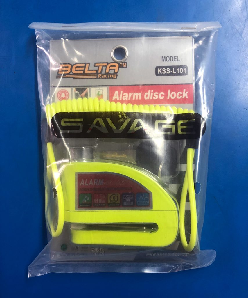Belta Racing Alarm Disc Lock