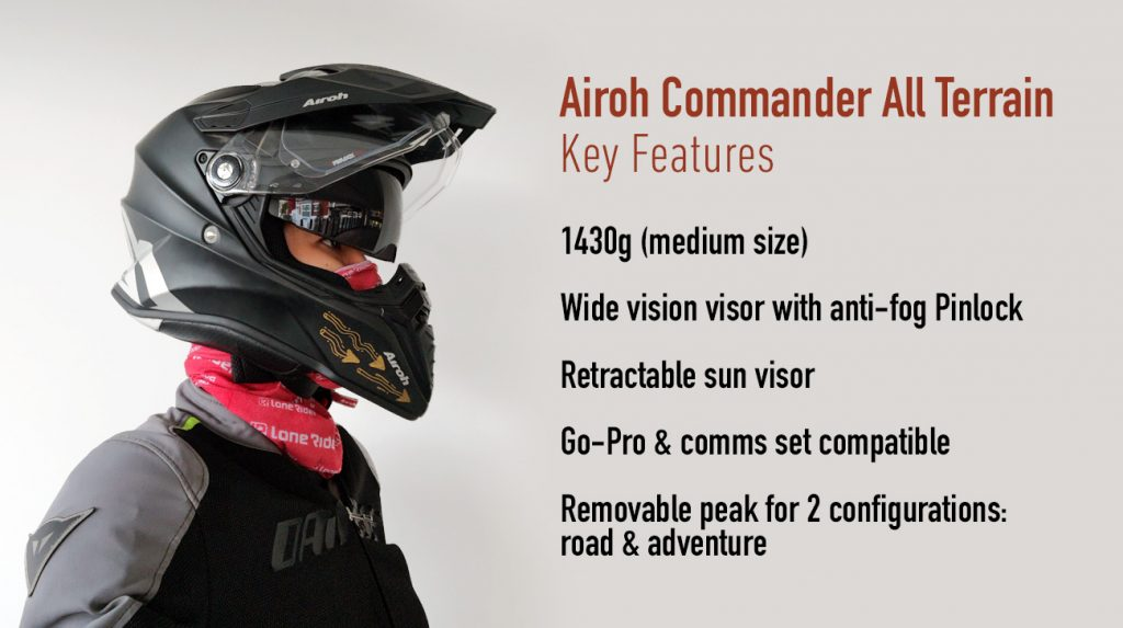 airoh commander key features