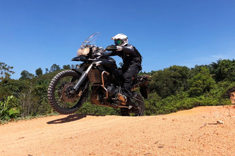 Triumph motorcycles offroad