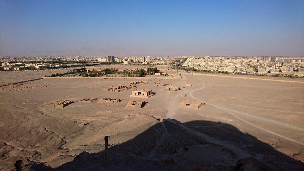 Iran dakhma viewpoint