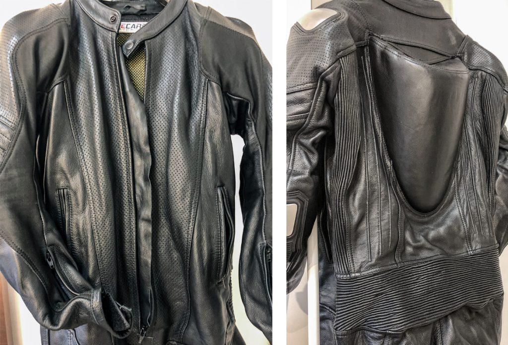 racecarbon leather race suit