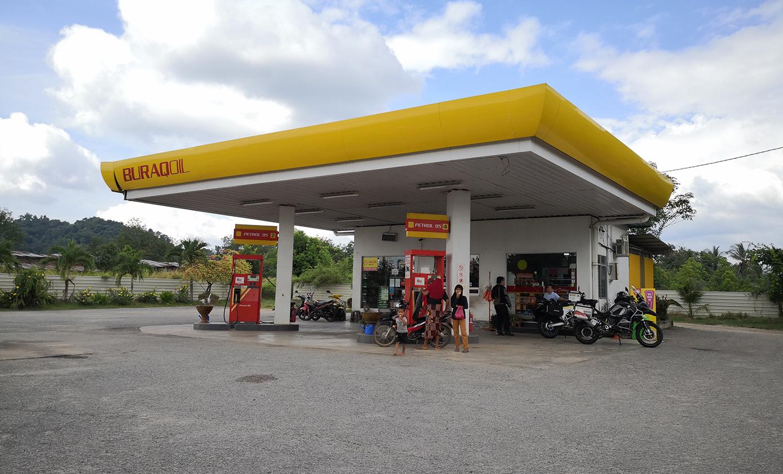 Durian Burung petrol station