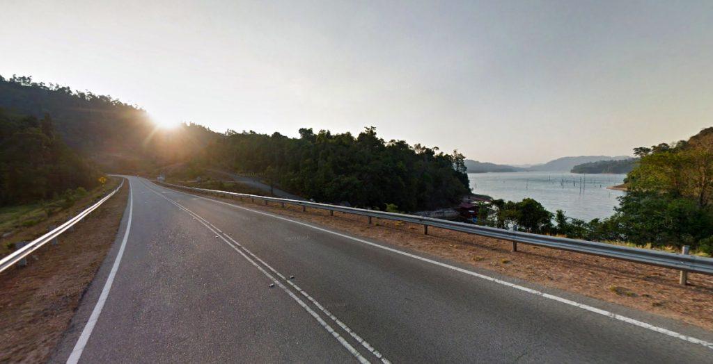 Tasik Pedu highway