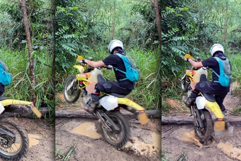 DRZ400SM offroad