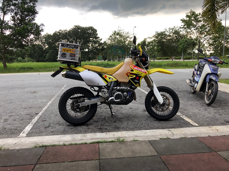 DRZ 400 SM Adventure Set Up