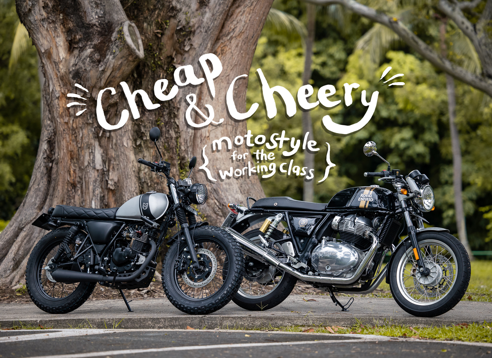 Cheap and Cheery Mutt Motorcycles Royal Enfield